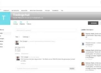 Trading Forum