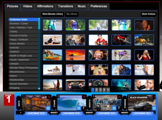 Mind Movies software