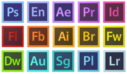 productos creados por Adobe