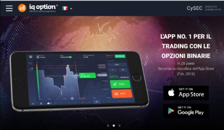 IQ Option iOS Android