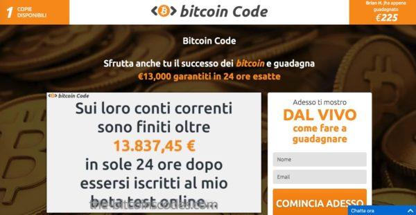 Bitcoin Code Sito Ufficiale