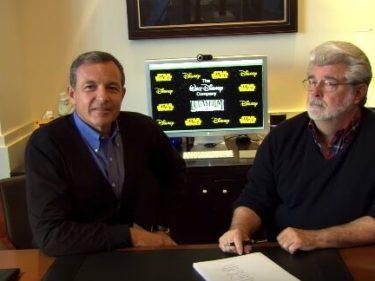 George Lucas firma il contratto di vendita della Lucasfilm a Disney
