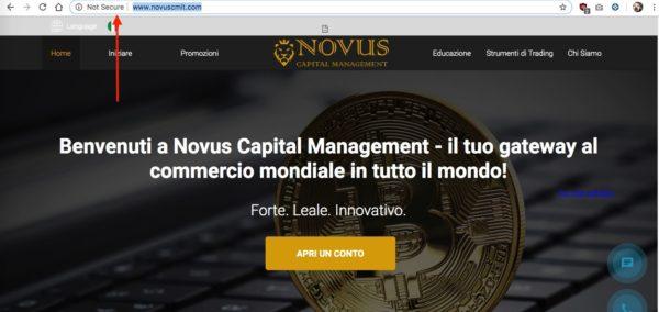 Novus CM Home Page