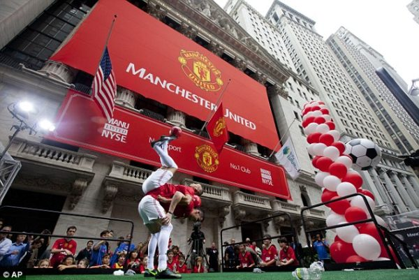 Manchester United Wall Street NYSE