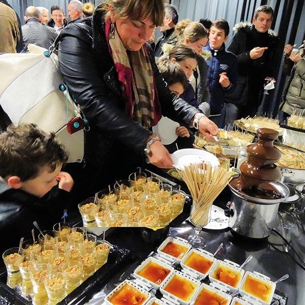 Buffet de desserts sucrés