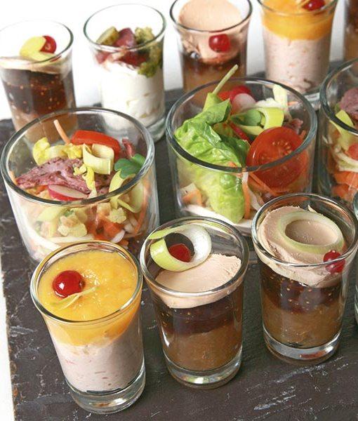 verrines sucrées Tradition Bretagne Traiteur