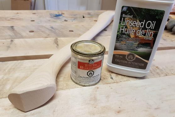 How To Oil Finish Axe And Tool Handles