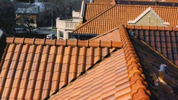 mca clay roof tile traditional building