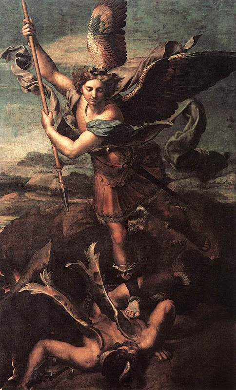 Michael Archangel_and the Devil_RAFFAELLO Sanzio