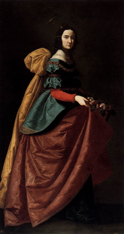 Elizabeth of Portugal_ZURBARÁN, Francisco de