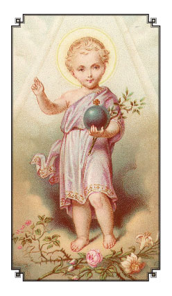 Child Jesus Holy Card Gt Holy Cards
