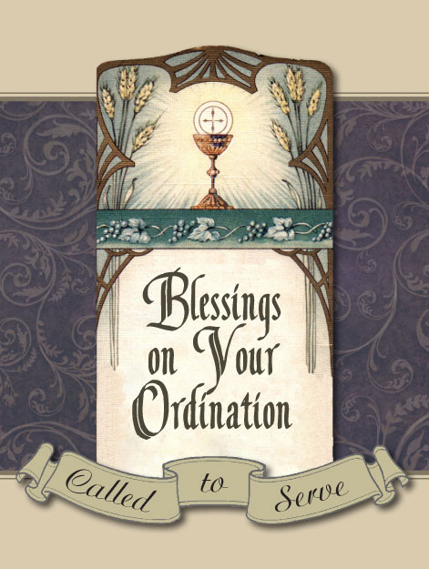 Blessings On Your Ordination Greeting Card Gt Greeting Cards