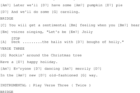 Piano Sheet Music » rockin around the christmas tree brenda lee ...