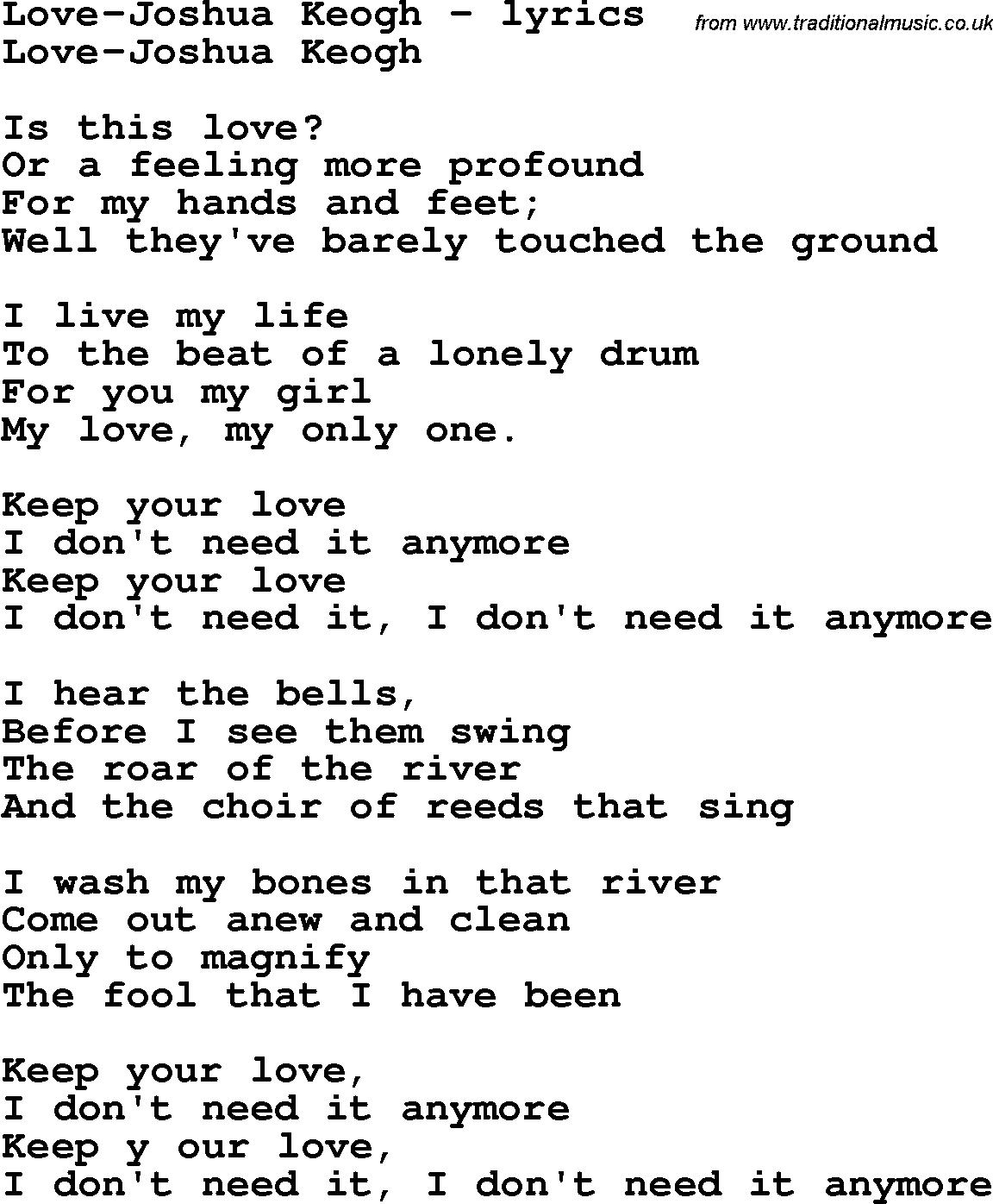 Love 7 And 7 Lyrics