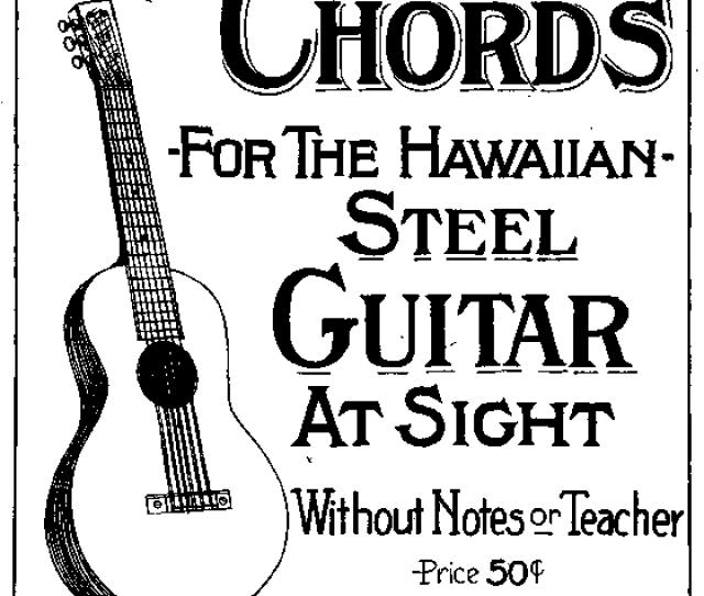 Steel Guitar Playing