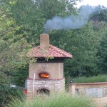 Pompeii firebrick pizza oven.