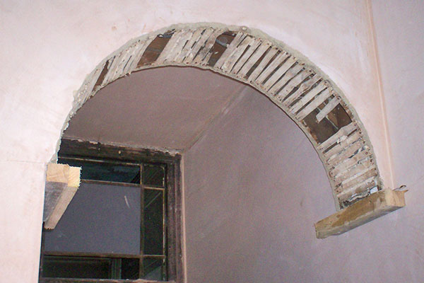 Decorative Plaster Archways Match Existing Repair And