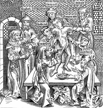 Jews torture and martyr St. Simon of Trent
