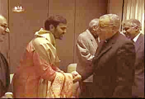 The Hindus warmly received by the Bishop
