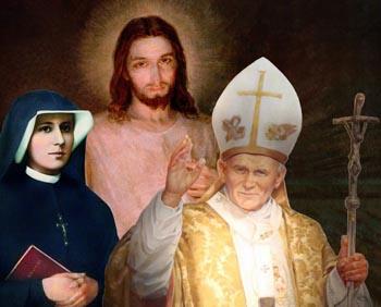 Faustina John Paul II divine Mercy