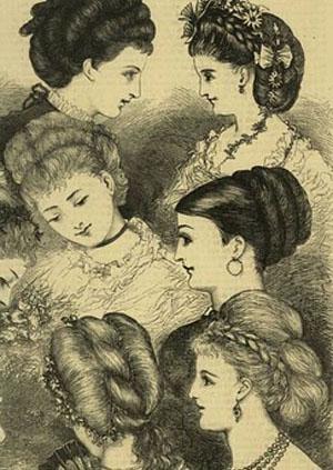 Peinados del siglo 19