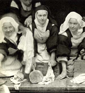 St Therese at the laundry