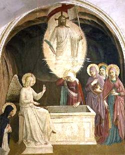 Las santas mujeres no podían concebir la Resurrección de Nuestro Señor