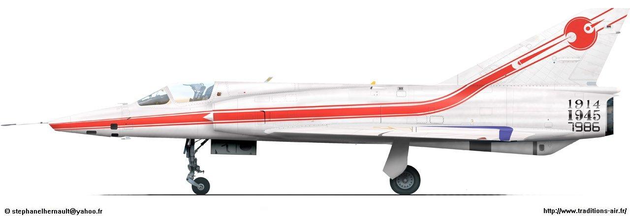 Zoom Sur Les Mirage III R Et Le Mirage III RD N360 TI