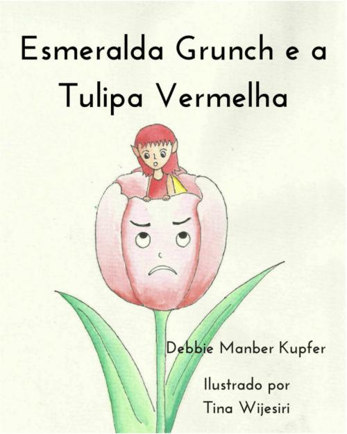 esmeralda grunch tulipa vermelha capa livro