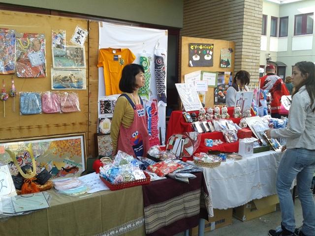 Il mercatino della scuola giapponese di Roma