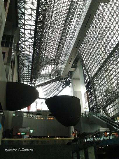 La futuristica stazione di Kyoto