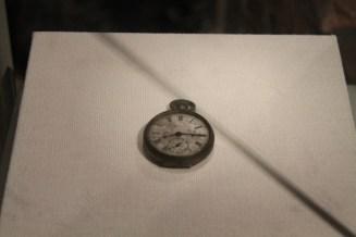 L'orologio fermo alle 8.15