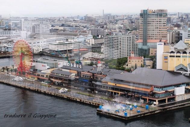 Panorama dalla Kobe Tower