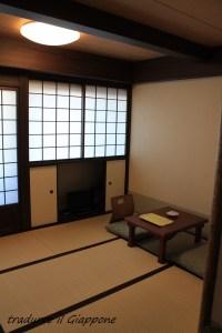 La nostra camera al Ryokan di Kyoto