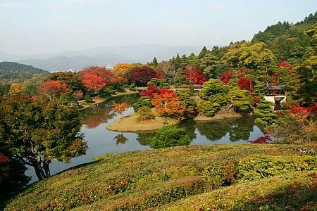 Giardino della Villa Shugakuin - immagine tratta da japan-guide.com