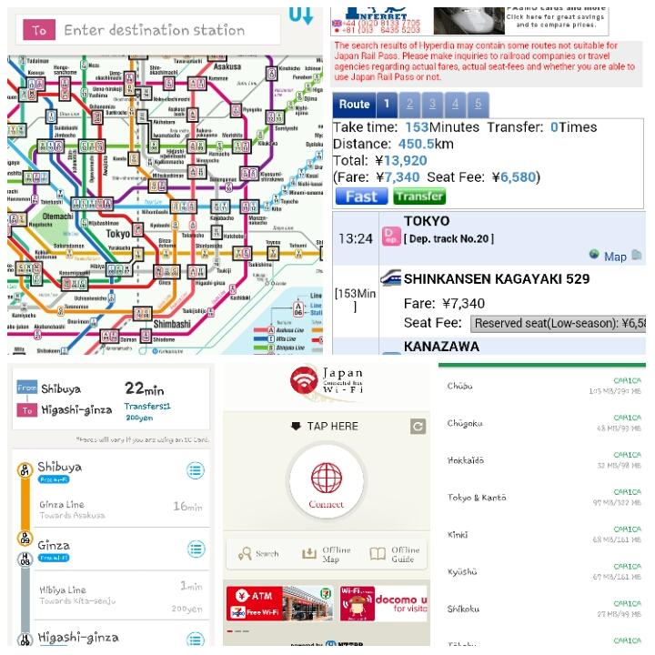 Viaggio in Giappone #5: le migliori app per viaggiare in Giappone