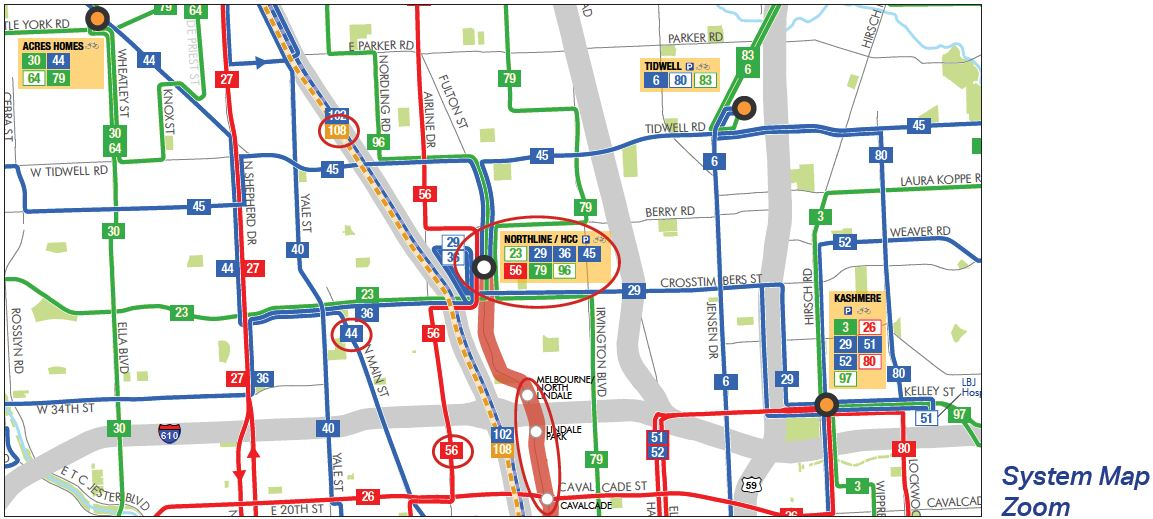 TEI: Traffic Engineers, Inc  | METRO's New Bus Network