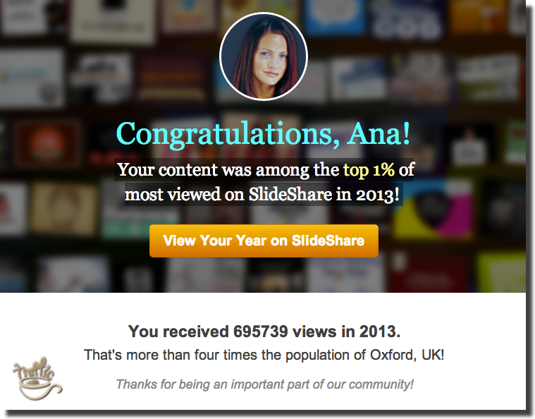 how to earn links through slideshare traffic