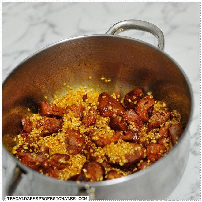 Tragaldabas Profesionales - Receta de androlla con arroz