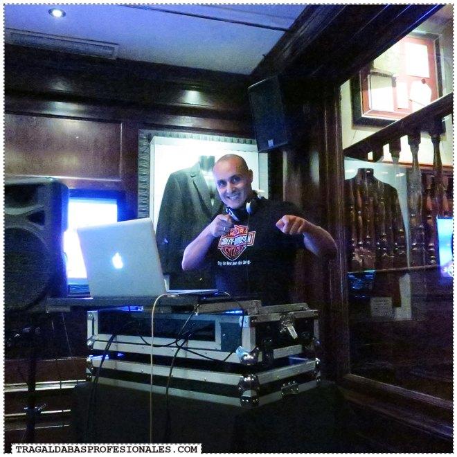 Tragaldabas Profesionales - Hard Rock Cafe - DJ