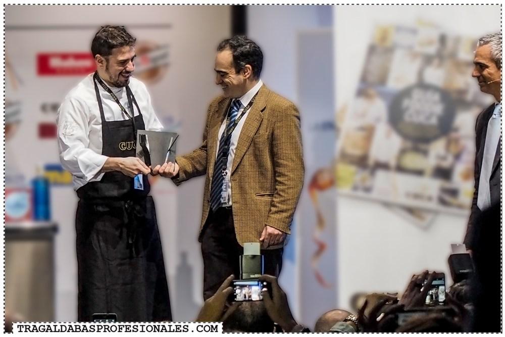 Cocinero Revelación Madrid Fusión - Javi Estevez - La Tasquería - Tragaldabas Profesionales