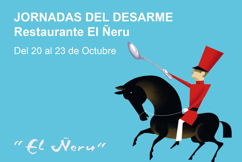 Jornadas Menú del Desarme - Restaurante Ñeru
