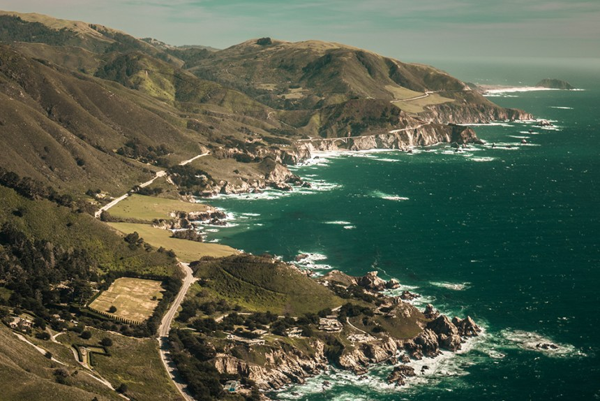 Big Sur/ Monterey Helicopter Aerial Photography