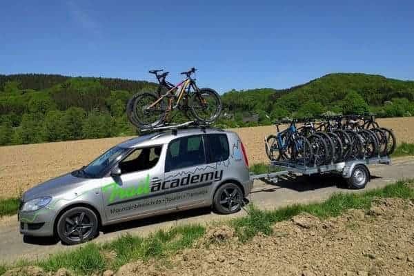 mountainbike wochenenden in der region
