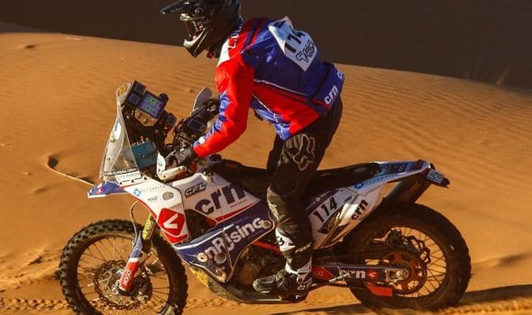 Photo of Africa Eco Race étape 3 : Luis Oliveira s'impose