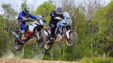 Photo of Match Africa Twin Adventure Sports contre KTM 1090 R Adventure