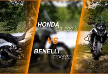 Photo of Comparatif A2 : Benelli TRK 502 et Honda CB 500 X