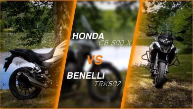 Photo of Comparatif A2 :Benelli TRK 502 et Honda CB 500 X
