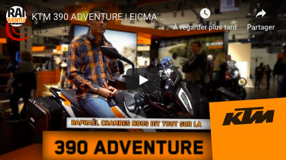 Photo of Vidéo : KTM 390 ADVENTURE – EICMA 2019