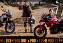 Photo of Essai en vidéo : Triumph TIGER 900 RALLY / TIGER 900 GT 2020